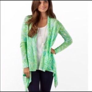 Lilly Pulitzer Babs Wrap Leaf Print